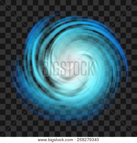Blue Hurricane Symbol Tornado Typhoon