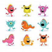 kleine Monster-set 2