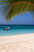Exotic Carribean beach