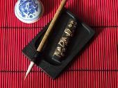 Chinese Calligraphy Brush Set