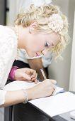 Hochzeitsgast Hochzeit Gästebuch signieren