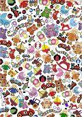Toys Background