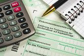 financial tax form