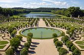 Garden of the castle of Versailles (France)