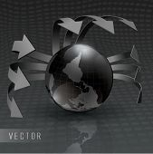 Vector Silver Earth