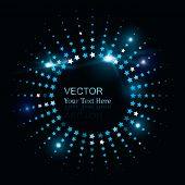 Vector Glowing Star