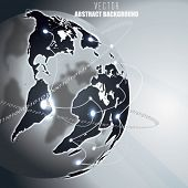 Vector Earth with Global Internet Communication