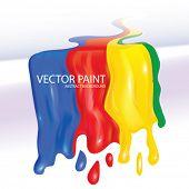 Vector Wet Paint Design