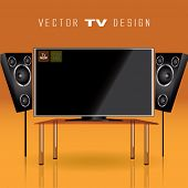Vector Tv Design