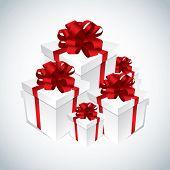 Cajas de regalo blanco