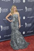 LAS VEGAS - APRIL 3 - Laura Bell Bundy attends the 46th Annual Academy of Country Music Awards in Las Vegas, Nevada on April 3, 2011.