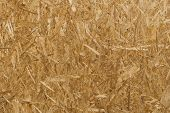 Oriented Strand Board. Osb Panel Texture Background. Pressed Wooden Panel Background, Texture Of Ori poster