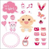 Cute Graphic for Baby Girl