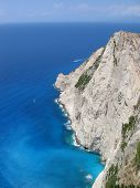 The Blue Sea Of Zakynthos