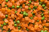 Carrot And Green Peas