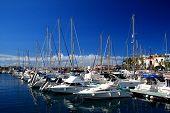 Marina in Puerto Mogan, Gran Canaria.