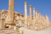 foto of cardo  - The Cardo Colonnaded Street - JPG
