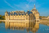 Chateau de Chantilly -  a view from the lake