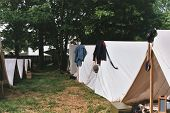 Civil War Tent City