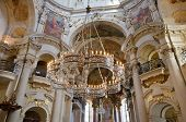 Interior of St. Nicholas Church, Prague, Bohemia, Czech Republic