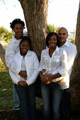 Two African American Couples