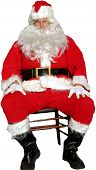 stock photo of 24th  - isolated santa - JPG