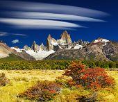 Monte Fitz Roy, Parque Nacional de Los Glaciares, Patagónia, Argentina