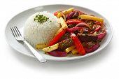 lomo saltado, cozinha peruana