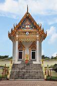 The majestic and beautiful Buddhist temple on the island of Koh Samui
