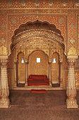 Interior Of An Indian Palace