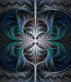 abstract fractal background  for art projects