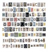 collection alphabet