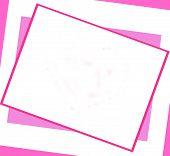 Brite Pink Frame