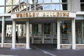 Chicago - entrada edificio Wrigley