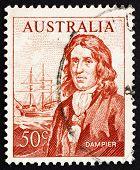 Postage stamp Australia 1971 William Dampier