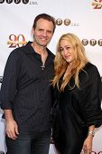 LOS ANGELES - AUG 9:  Michael Biehn, Jennifer Blanc-Biehn at the Sue Procko Public Relations 20th An