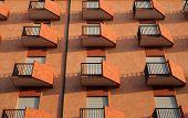 Orange Balconies