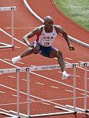 USA Masters Man Track Hurdles
