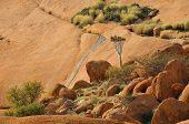 Landscape, Spitzkoppe, Namibia