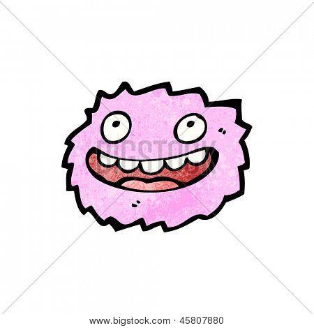 poster of little pink furball monster