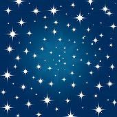 Beautiful Night Star Sky Background