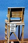 Life Guard Off Duty Chair In Hdr