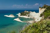 picture of sidari  - The part of greece island called Sidari in Corfu - JPG