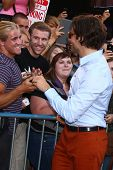 LOS ANGELES - MAY 20:  Bradley Cooper interacts with fans at the