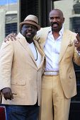 LOS ANGELES - MAY 13: Cedric the Entertainer, Steve Harvey at a ceremony where Steve Harvey is honored with a star on the Hollywood Walk Of Fame on May 13, 2013 in Los Angeles, California