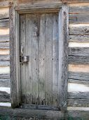 Rustic Wooden Door