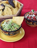 Guacamole Dip With Chips