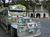 Vigan Jeepney Philippines