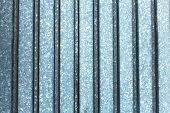 Metall Textur silberne Farbe durch senkrechte Linie