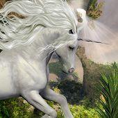 Unicorn And Yucca Plant